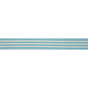 Bowtique Blue Stripe Ribbon