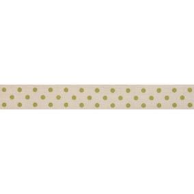 Bowtique Green Dotty Ribbon