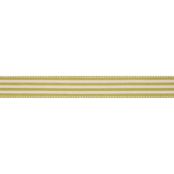 Bowtique Green Stripe Ribbon