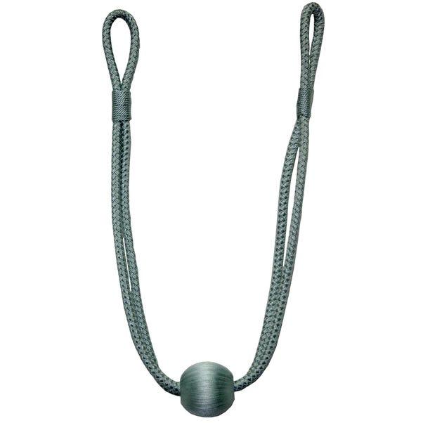Duck-Egg Ball Rope Tieback