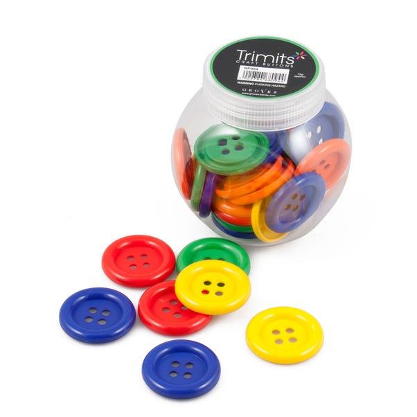 Jumbo Button Jar