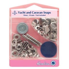 Hemline Yacht and Caravan Snaps Set