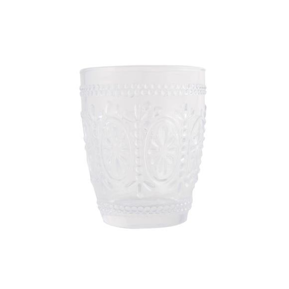 Maison Chic Glass Tumbler Clear