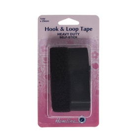 Hemline Heavy Duty Hook and Loop Tape