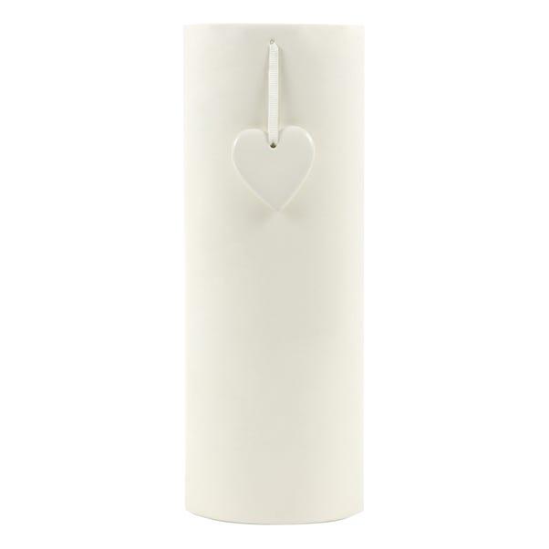 Candy Rose Ivory Vase Ivory undefined