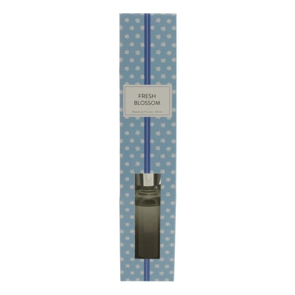 Home Fragrance Fresh Blossom 45ml Reed Diffuser Blue