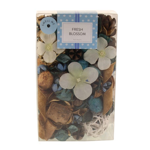Fresh Blossom Pot Pourri Blue