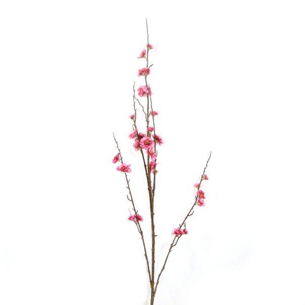 Artificial Blossom Flower Mauve Single Spray 92cm Mauve
