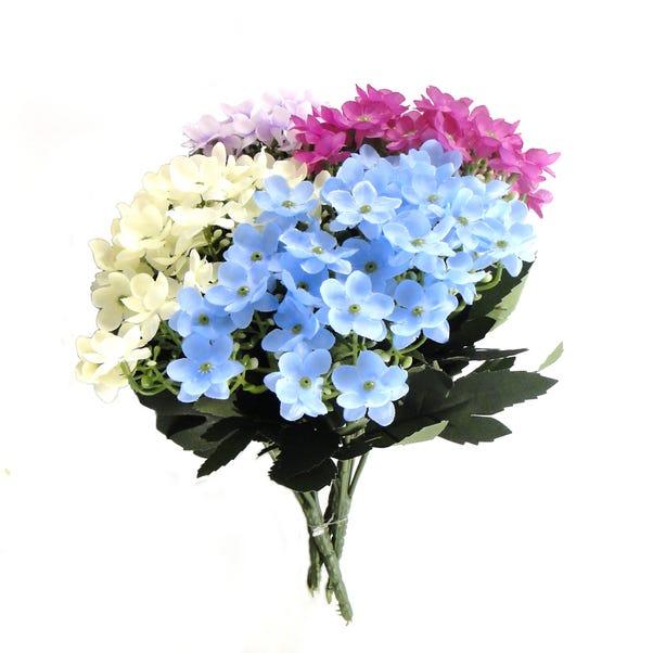 Artificial Blossom Multi Arrangement 24cm Multi Coloured