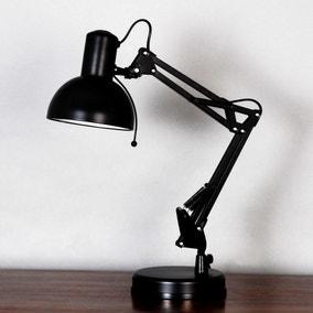 Carlton Black Task Desk Lamp