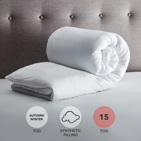 Fogarty Soft Touch 15 Tog Duvet White undefined