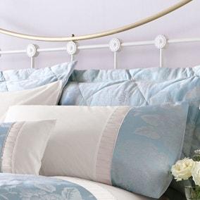 Olivia Duck-Egg Housewife Pillowcase