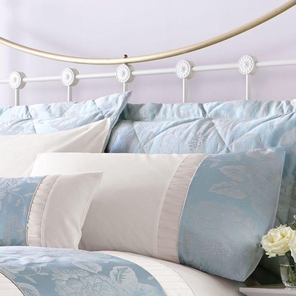 Olivia Duck-Egg Pillow Sham Duck Egg (Blue)