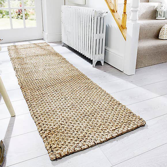 Chunky Jute Woven Doormat Chunky Jute Natural undefined