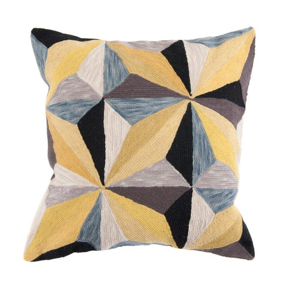 Prismatic Cushion Yellow