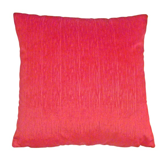 Shimmer Cushion Cover Red undefined