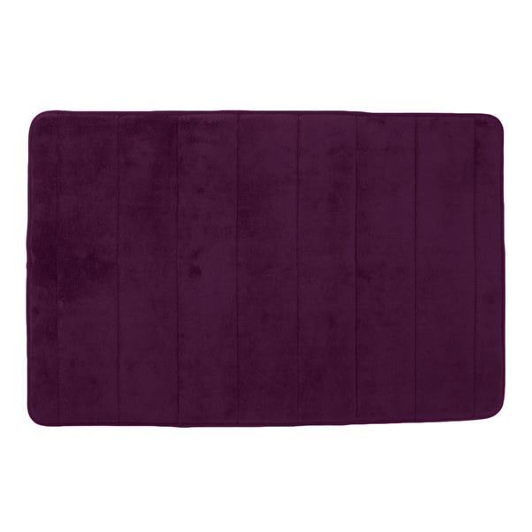 Memory Foam Grape Bath Mat Grape (Purple)