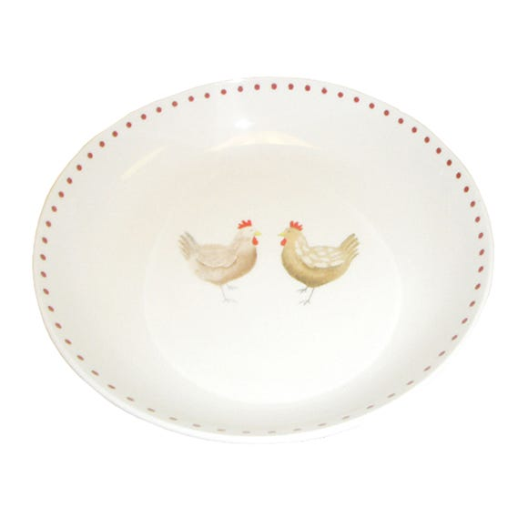 Henrietta Pasta Bowl Cream