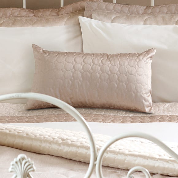 Circles Latte Boudoir Cushion Latte (Brown)