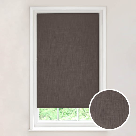 Solar Stone Blackout Roller Blind Stone (Brown) undefined