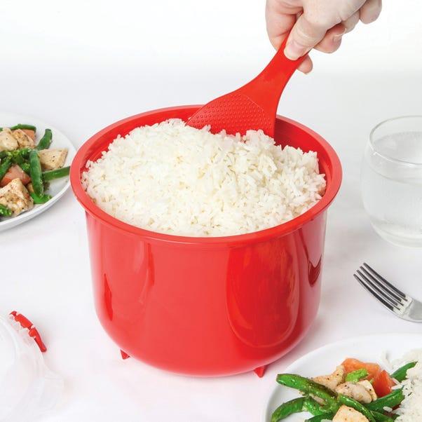 Sistema 2.6 Litre Rice Steamer Red