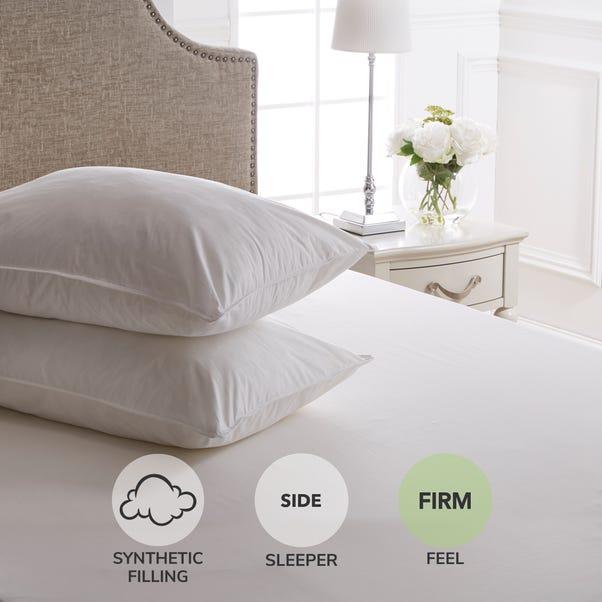 Dorma Full Forever Anti-Allergy Firm-Support Pillow Pair White