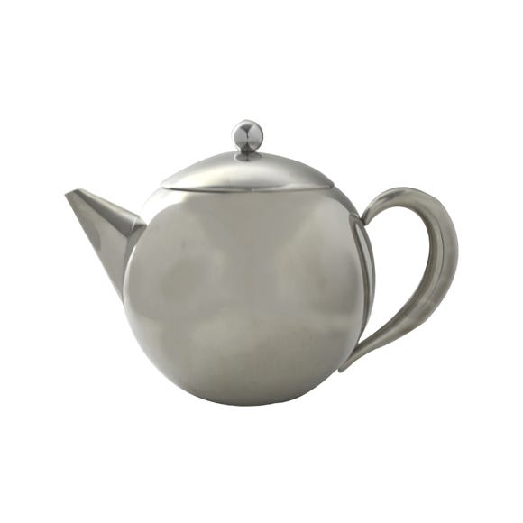 1.2 Litre Stainless Steel Teapot Silver