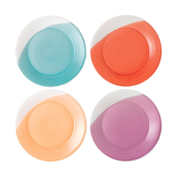 Royal Doulton 1815 Extensions Side Plate Set Multi Coloured