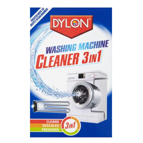 Dylon 3 in 1 Washing Machine Cleaner Multi Coloured