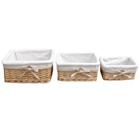 Farmstead Set Of Three Baskets