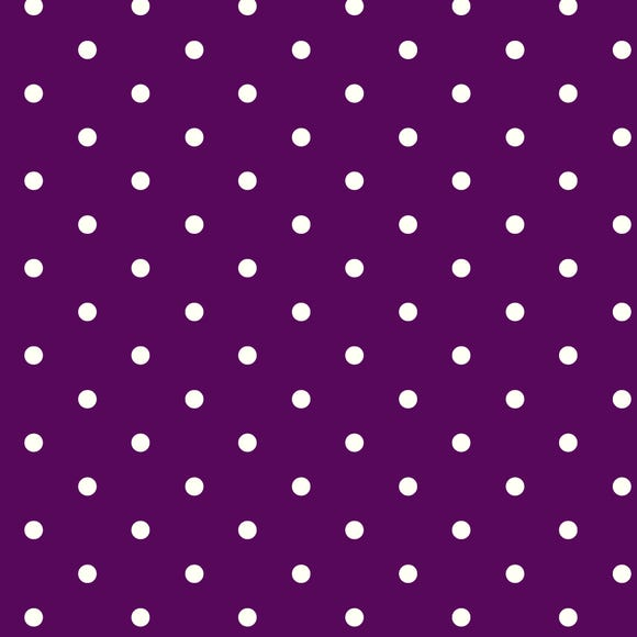 Mauve Dotty PVC