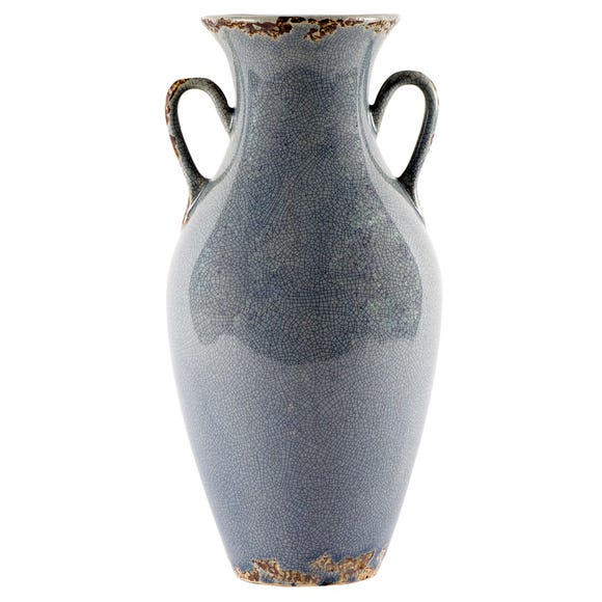 Chateau Urn Vase Blue