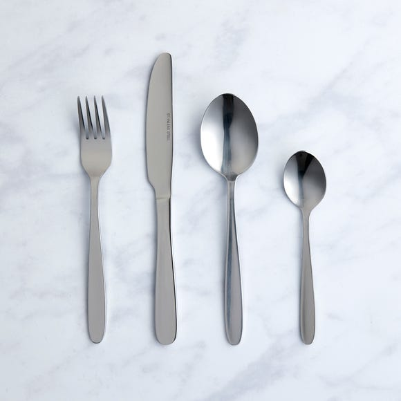 Simply York 16 Piece Set Silver