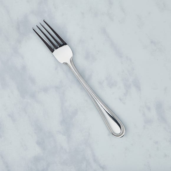 Bead Fork Silver