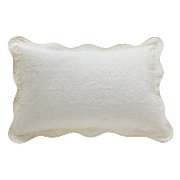 Ebony Cream Pillow Sham Cream