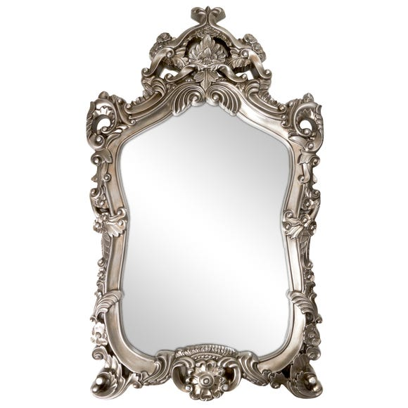 Ormolu Highlife Mirror Antique champagne silver