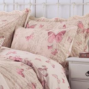 Botanica Butterfly Blush Housewife Pillowcase