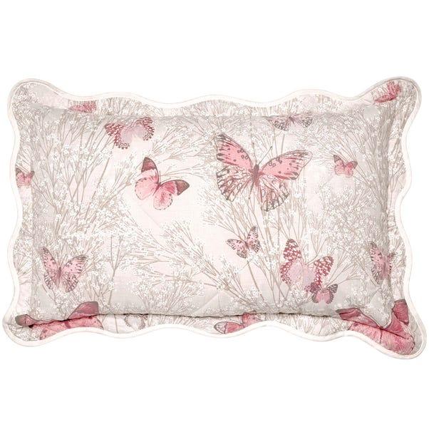 Botanica Butterfly Blush Pillow Sham Blush (Pink)