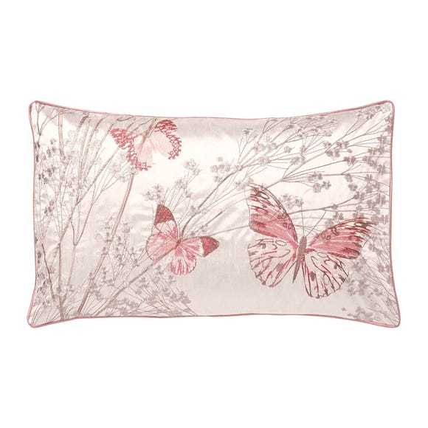 Botanica Butterfly Blush Boudoir Cushion Blush (Pink)
