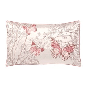 Botanica Butterfly Blush Boudoir Cushion