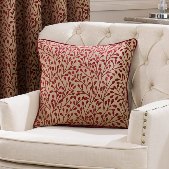 Willow Cushion Red