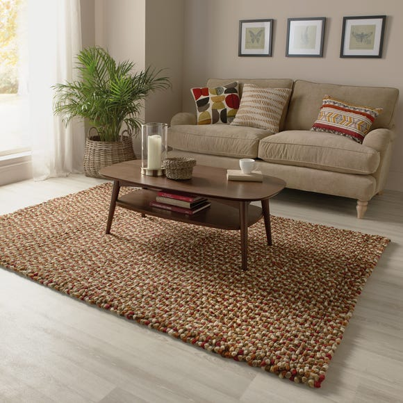 Candy Bean Wool Rug  undefined