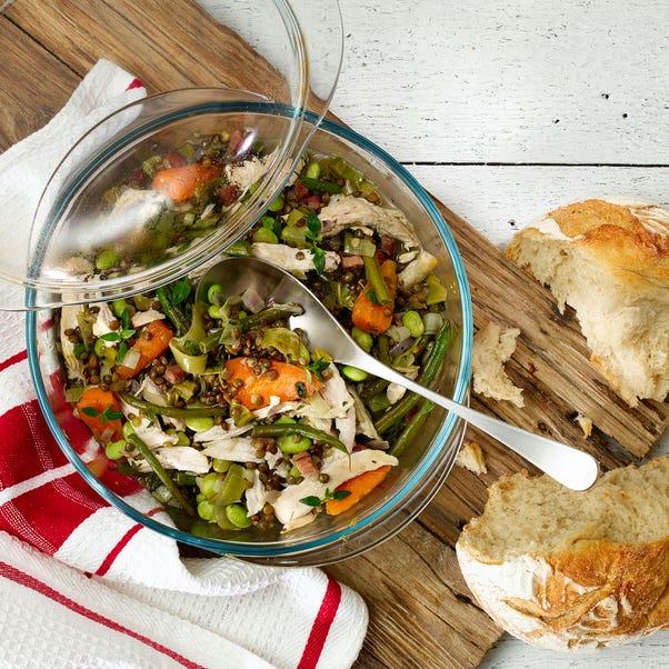 Pyrex Essentials Casserole 1L Clear