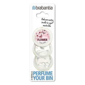 Brabantia Perfume Your Bin Pack of 3 Flower Scented Refills