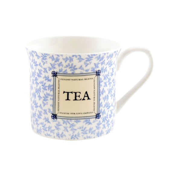 Chateau Blue Tea Palace Mug Blue