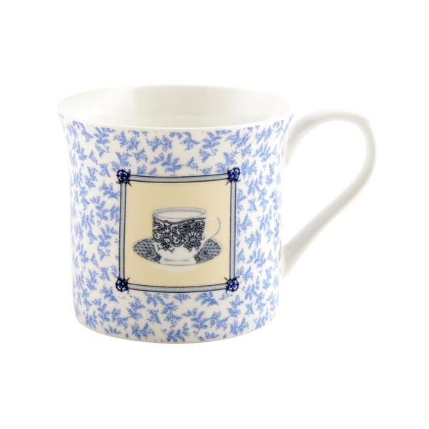 Chateau Blue Cup & Saucer Palace Mug Blue