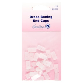 Hemline Dress Boning End Caps