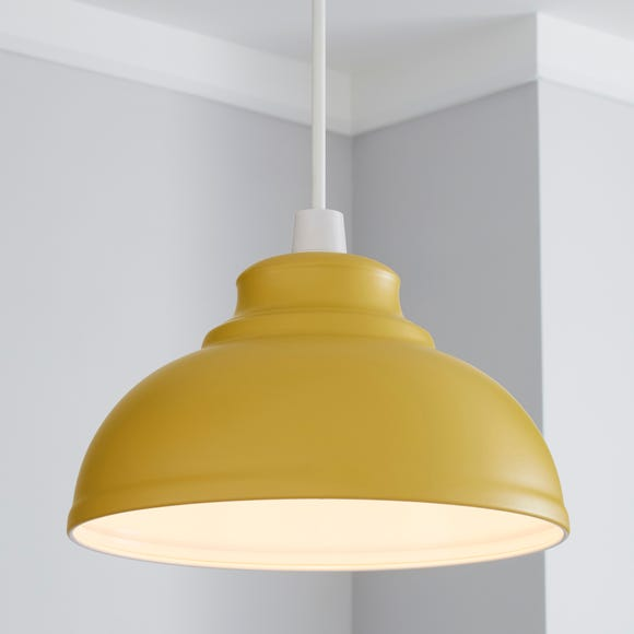 Galley Ochre Easy Fit Pendant Ochre (Yellow)