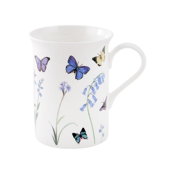Flared Butterfly Mug Lilac