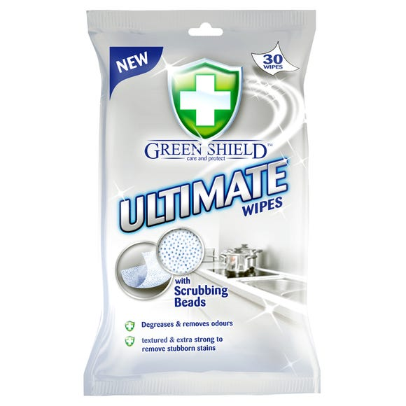 Greenshield Ultimate Wipes White